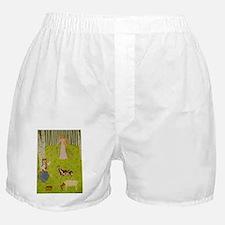 Wood Maiden Boxer Shorts