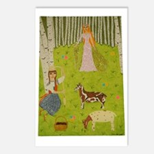 Wood Maiden Postcards (Package of 8)