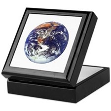 earth432013darkT Keepsake Box