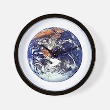 earth432013darkT Wall Clock