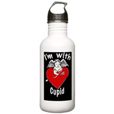 Im with Cupid MPAD Water Bottle