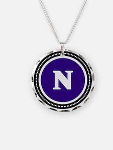 Purple N Necklace