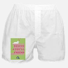 Adopt a rescue Boxer Shorts