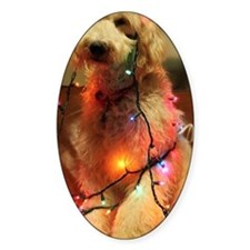 Christmas puppy Decal