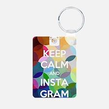 Keep Calm and Insta Gram Keychains