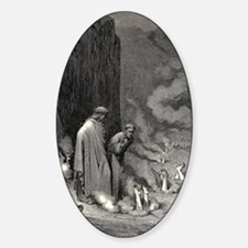 Gustave Dore - The Simonists Decal