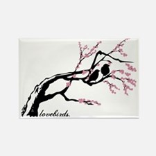 cherry-blossoms Rectangle Magnet