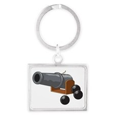 Cannonball Landscape Keychain
