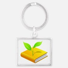 Plant the Seed Landscape Keychain