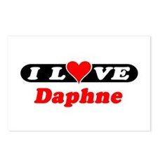 I Love Daphne Postcards (Package of 8)