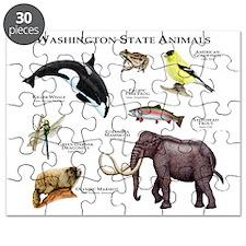 Washington State Animals Puzzle