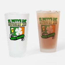 Beer Ho Drinking Glass