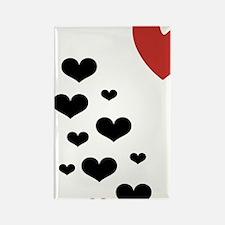 HeartLitterLight Rectangle Magnet