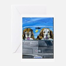 Ranger and Casey Greeting Card