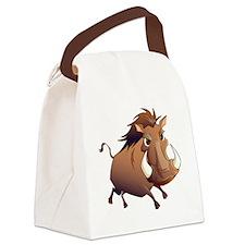 Wild Boar Canvas Lunch Bag