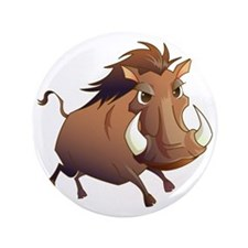 "Wild Boar 3.5"" Button"
