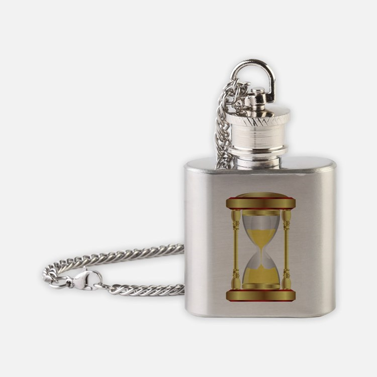 Hourglass  Flask Necklace
