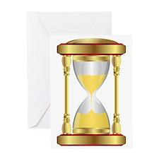 Hourglass  Greeting Card