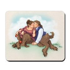 Satyrs and Apples Mousepad