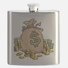 Money Bags Flask