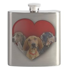 St Valentines Hounds - WNT Flask