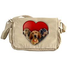 St Valentines Hounds - WNT Messenger Bag