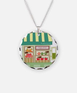 Produce Stand Necklace