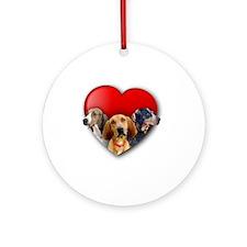 CHC_heartgraphic_BNT Round Ornament