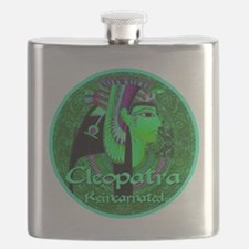 Cleopatra Reincarnated Emerald Carpet! Flask