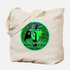 Cleopatra Reincarnated Emerald Carpet! Tote Bag