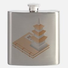Chinese Architecture Flask