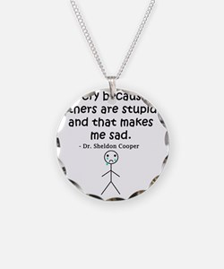 Big Bang Others Are Stupid Necklace