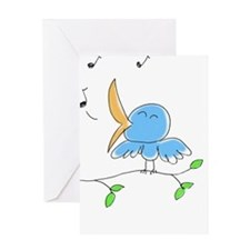 littlebirdie - color 2 Greeting Cards