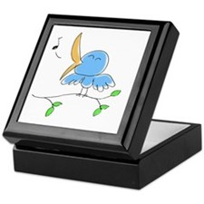 littlebirdie - color 2 Keepsake Box