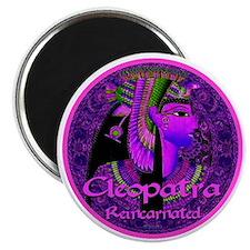 Cleopatra Reincarnated Ruby Carpet Magnet