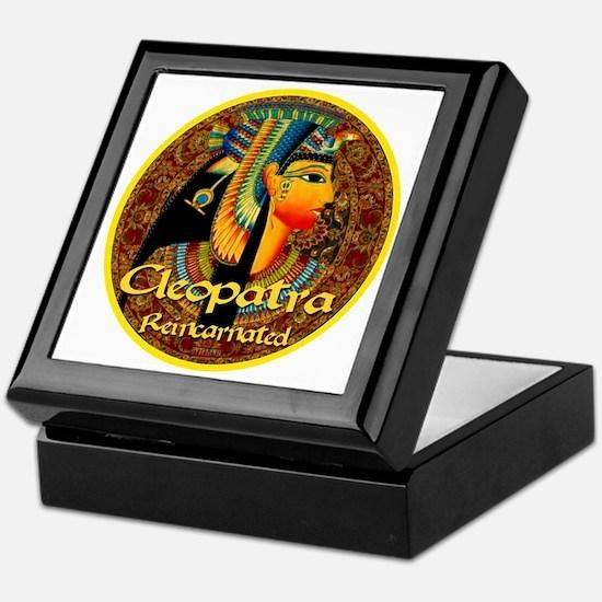 Cleopatra Reincarnated Persian Carpet Keepsake Box