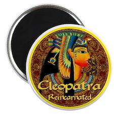 Cleopatra Reincarnated Persian Carpet Magnet