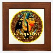 Cleopatra Reincarnated Persian Carpet Framed Tile