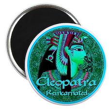 Cleopatra Reincarnated Emerald Carpet Magnet