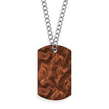 Bronze Copper Silk Dog Tags
