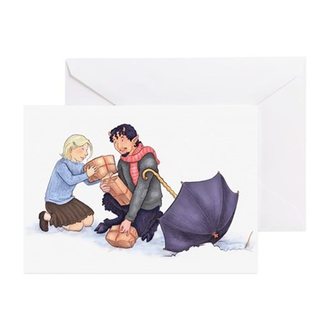 Lucy and Mr. Tumnus Greeting Cards (Pk of 10)