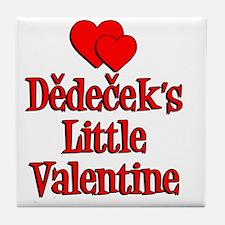 Dedecek Little Valentine Tile Coaster