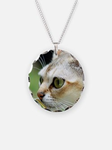 Singapura Cat Necklace