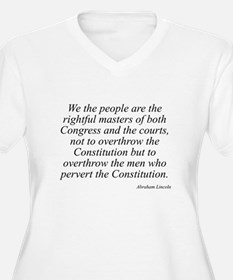 Abraham Lincoln quote 115 T-Shirt