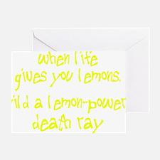 lemons1 Greeting Card