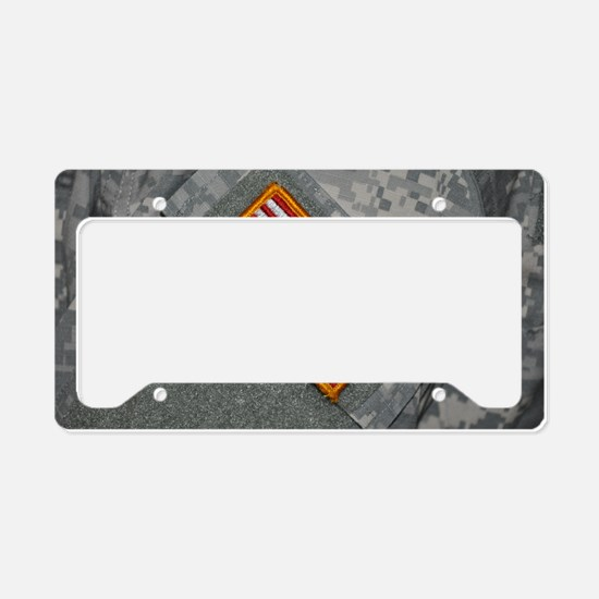 These are my colors License Plate Holder