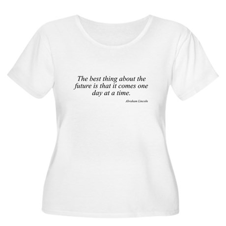 Abraham Lincoln quote 91 Women's Plus Size Scoop N