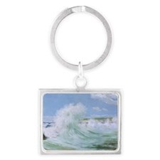 so_Oval_Keychain_878_H_F Landscape Keychain