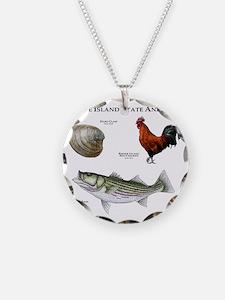 Rhode Island State Animals Necklace