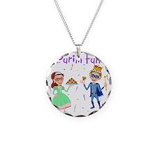 Purim King  Queen Necklace